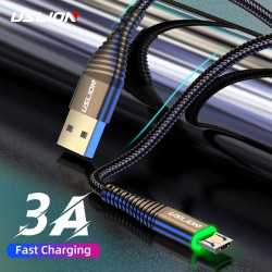 USLION 3A Fast Charging Micro USB Cable