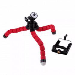 Mobile Phone Stand Car Phone Holder Flexible octopus Tripod Bracket Digital Camera Mini Portable Flexible Desktop Stent