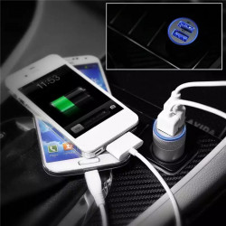 Car USB Charger Quick Charge 2.1A 1A Mobile Phone Charger 2 Port USB Fast Car Charger for IPhone Samsung Tablet Car-Charger