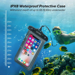 Universal Waterproof Case Swim Cover Pouch Bag Mobile Phone Coque Water Proof Case For iPhone 11 Pro MAX 6s 7 Plus Xiaomi