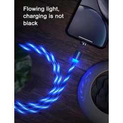 Magnetic Light LED Cable Micro USB Fast  Charging
