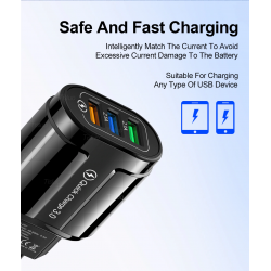 Tisluo  USB Charger Quick Charge 3.0 for all phone