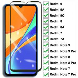 9D Tempered Glass For Xiaomi Redmi