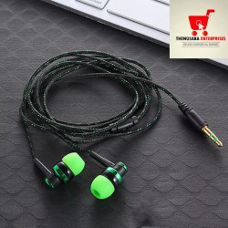 Cable Earphone Headset with Mic In-Ear 3.5mm