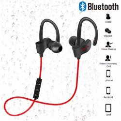 Bluetooth Wireless Earphones Sport Earbuds Stereo Headsets With Mic Ear-Hook Headphones Handsfree Earpieces For All Smart Phones