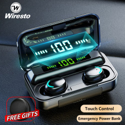 Wiresto True Wireless Earbuds Mini Bluetooth 5.0