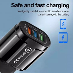 3 USB FAST CHARGER 2.1A