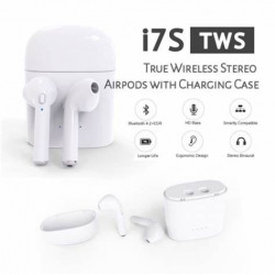 Original i7s Airpods Full Set with Box - Wireless Bluetooth Earphones Earbuds for All Mobile