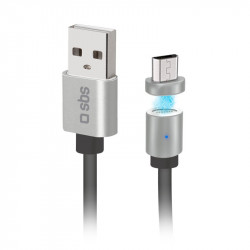 LED Magnetic USB Cable Fast Charging USB