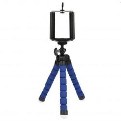 Flexible phone holder tripod