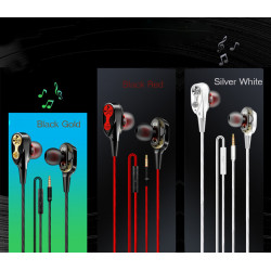 High Bass Stereo In-Ear Wired Earphone With Microphone