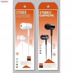 D21 STEREO EARPHONE