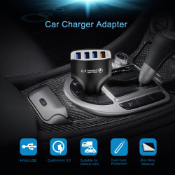 QC3.0 Quick Charge 4 Port USB Charger Car Chargers