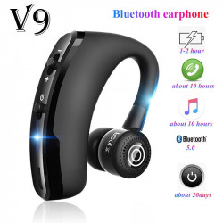 V9 Bluetooth Earphones Wireless Handsfree