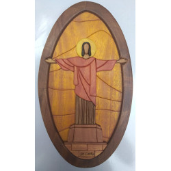 JESUS WALL DECOR/S.JAYASINGHA WOOD CRAFT