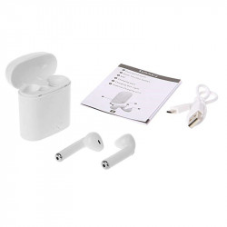 i7s Tws Bluetooth Earphones Sport Wireless Headpho