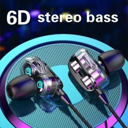 HIFI In-Ear Wired Earphone 3.5mm Earbuds Earphones