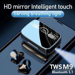 M9 TWS Pro Headsets Bluetooth Wireless Earphone