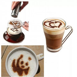 16pc Fancy Coffee Printing Template