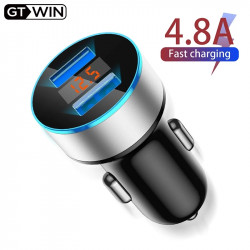 GTWIN 4.8A Car Charger Mobile Phone Fast Charging
