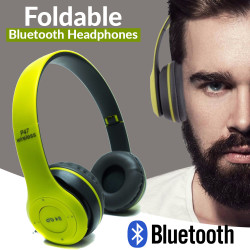 P47 Foldeble  Bluetooth Wireless Stereo Headphone